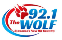 92.1 The Wolf 105.1 WOLF-FM Syracuse 96.7 WWLF Craig Fox 92.1 WSEN-FM Family Life Network