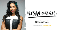 Nessa On Air Hot 97 WQHT Benztown Cat Collins MTV Girl Code