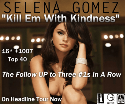 Selena Gomez Kill Em With Kindness Interscope