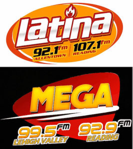 Quilvio Perdomo Latina 92.1 107.1 Mega 99.5 92.9 Reading Allentown