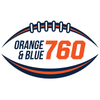 Denver Sports 760 KDSP Orange Blue Radio Broncos