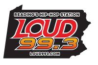 Loud 99.3 W257DI WLEV-HD4 Reading Hip-Hop