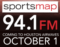 SportsMap 94.1 Sports Map SB Nation 1560 KGOW Houston