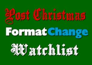 2017 Post-Christmas Radio Format Change Watchlist Rundown