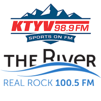 98.9 KTYV Sports FM Real Rock 100.5 The River KCOQ News Talk 105.7 KKSB