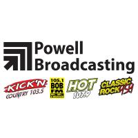 Powell Broadcasting Classic Rock 95.9 WRBA Hot 107.9 WPFM Kick'n Kickin 103.5 WKNK 105.1 Bob-FM WASJ Panama City