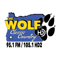 95.1 The Wolf Classic Country K236CI KAKT-HD2 105.1 Medford