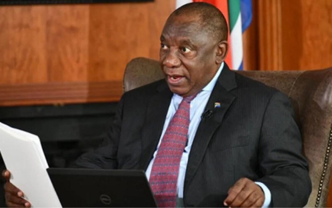 [FULL SPEECH] Ramaphosa's Address to the Nation on COVID-19 Lockdown Regulations