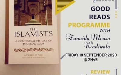 GOOD READS WITH ZUNAIDA MOOSA WADIWALA: THE ISLAMISTS