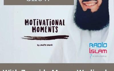 The Good Read Show with Zunaida Moosa Wadiwala: Motivational Moments