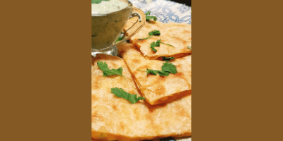 Mini Aloo Parathas made with todays pastry