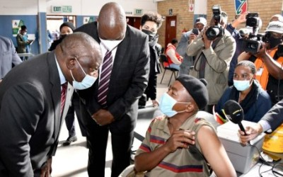 Ramaphosa says SA Should be Heading Towards Herd Immunity as the Country Ramps up COVID-19 Vaccinations