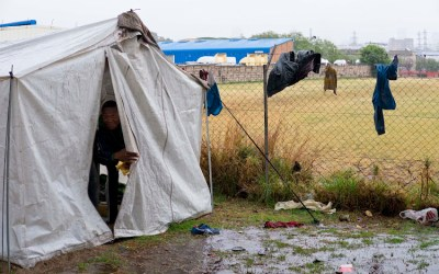 Homelss tents settlements, a growing concern for residents in Norwood