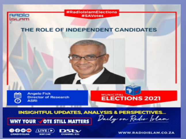 The Role of Independent Candidates – Angelo Fick