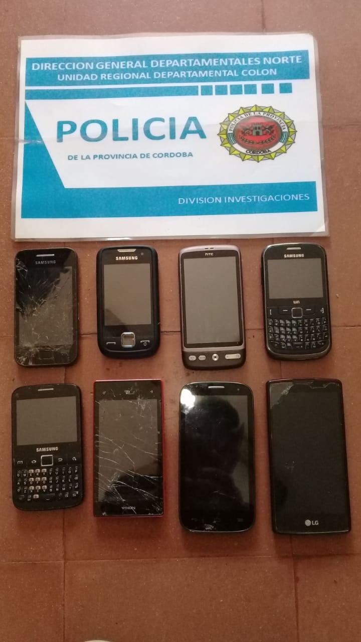 Se secuestraron teléfonos vinculados a la causa.