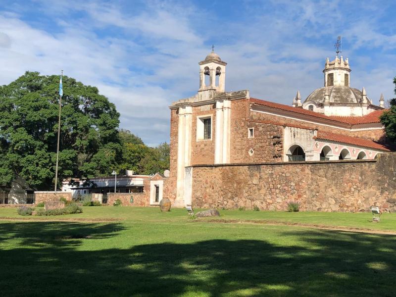 El Museo Jesuítico es parte del complejo Patrimonio de la Humanidad.