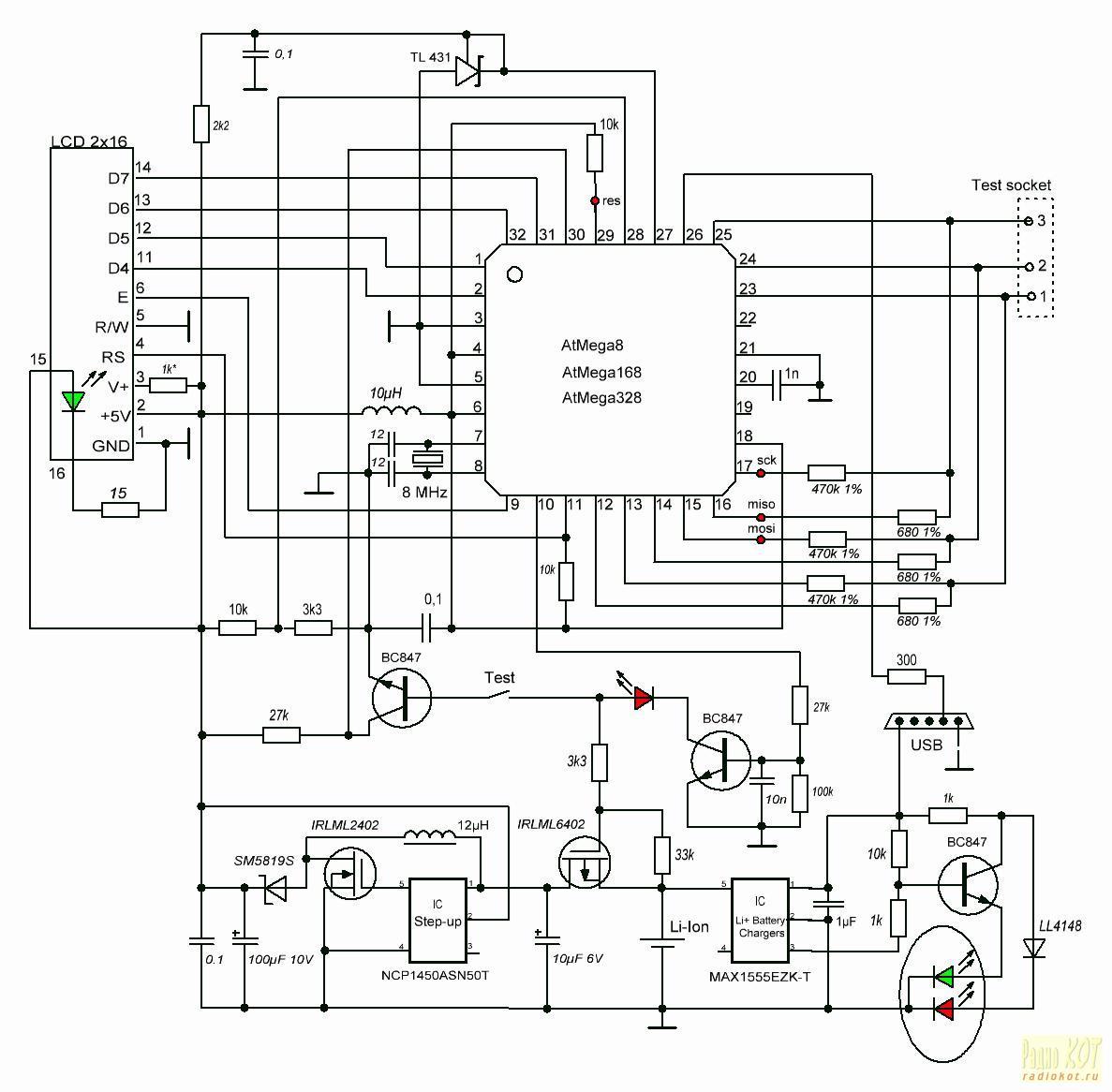 Transistor Tester Atmega328 Firmware