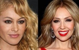 Thalía y Paulina Rubio no descartan una gira juntas