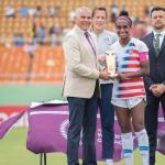 Por todo lo alto finalizó Premundial Femenino Sub-20 en Dominicana