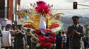 Comité escogió los diseños de carros alegóricos para las fiestas de Ambato