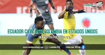 Padilla salvó de goleada a Ecuador