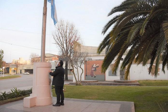 Acto oficial por el Día de la Independencia Argentina