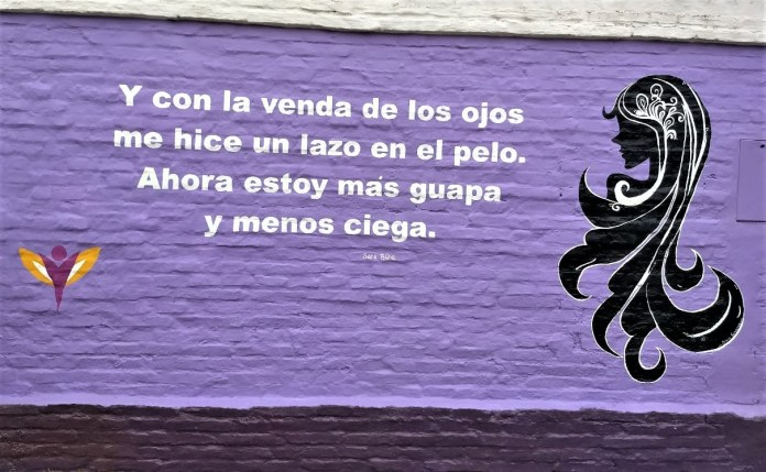 mural en chacabuco violencia contra la mujer