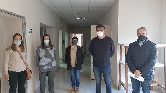 Golía y Belfortti visitaron la UTN