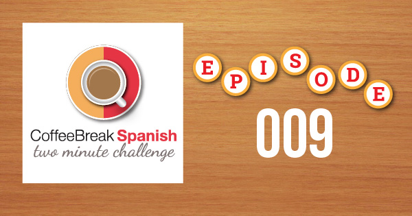 Spanish Challenge 9