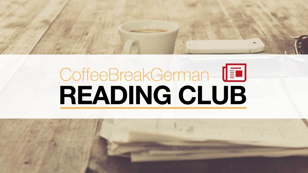 German Reading Club logo