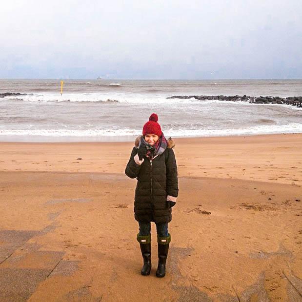 Kess InHouse Kess Original Ciao Round Beach Towel Blanket
