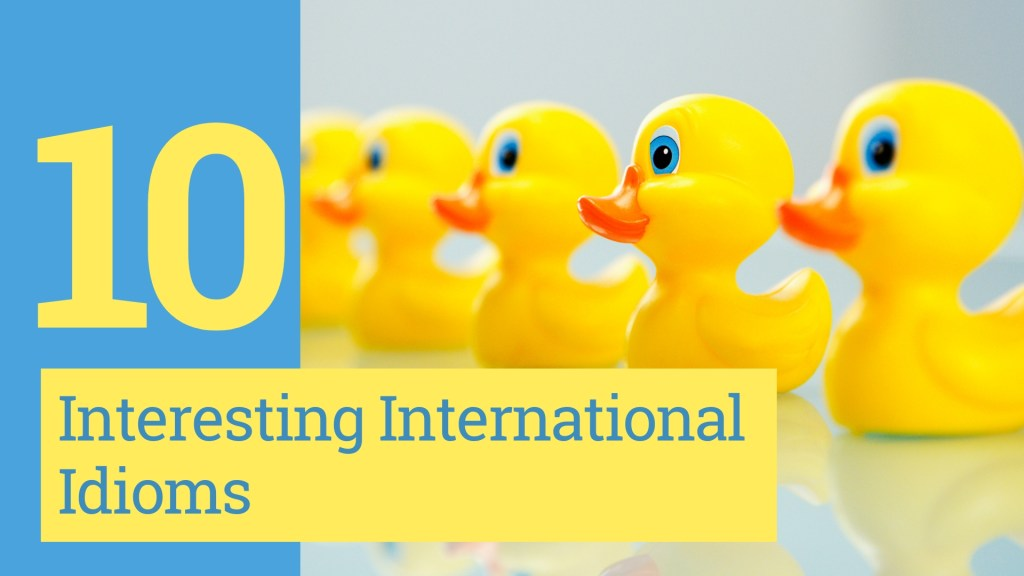 Get your Ducks in a Row with these 10 Interesting