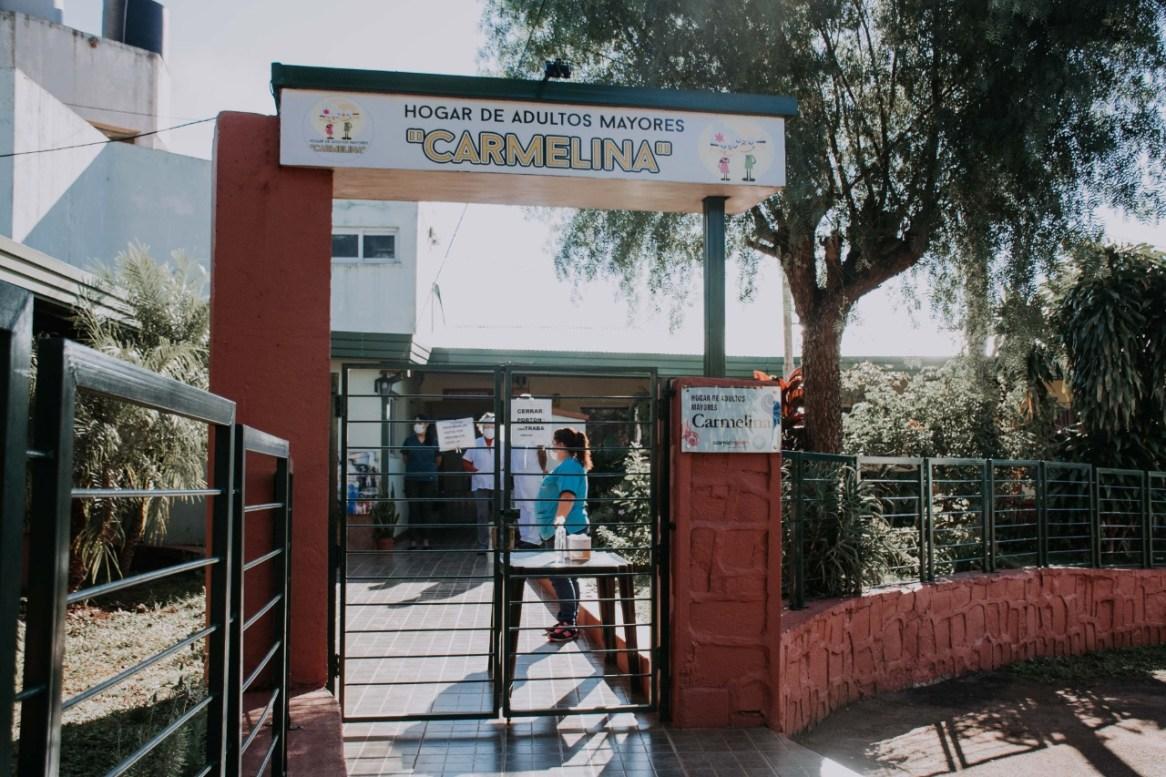 5 GACETILLA - Entrega de Cheque por Ampliacion Hogar Carmelina en Hospital SAMIC - L. N. Alem