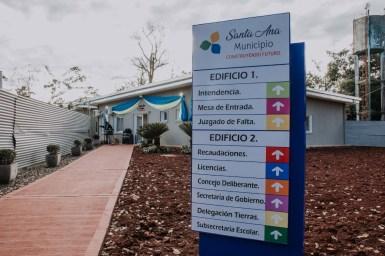 2 Habilitación parcial centro cívico de Santa Ana