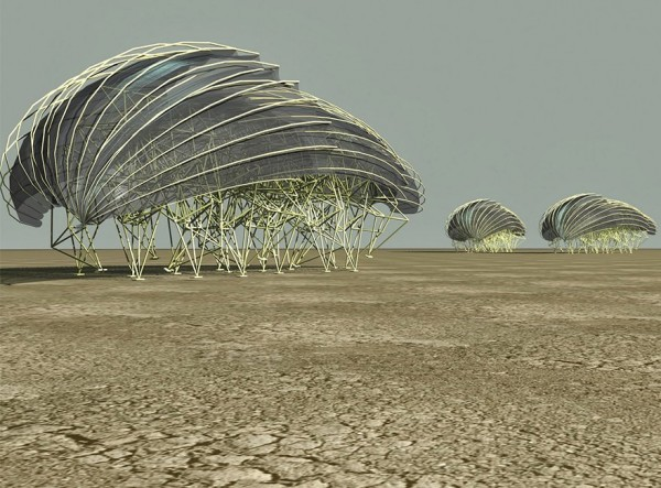 Theo Jansen y sus increíbles criaturas que caminan con energía eólica - s41-600x443