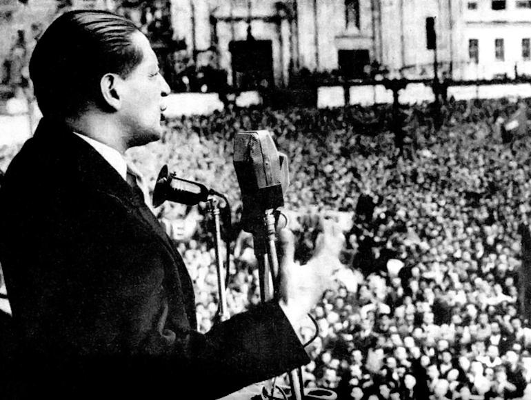 ¡Gaitán: Restauración moral y democrática de la república! - jorge-eliecer-gaitán