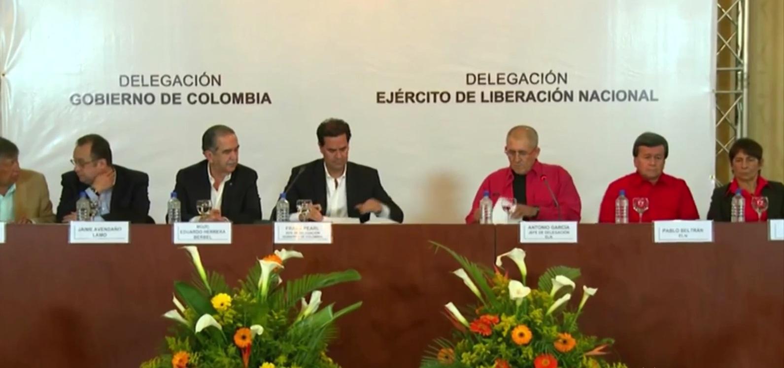Carta Abierta a Diálogos de Paz - ELN-Gobierno
