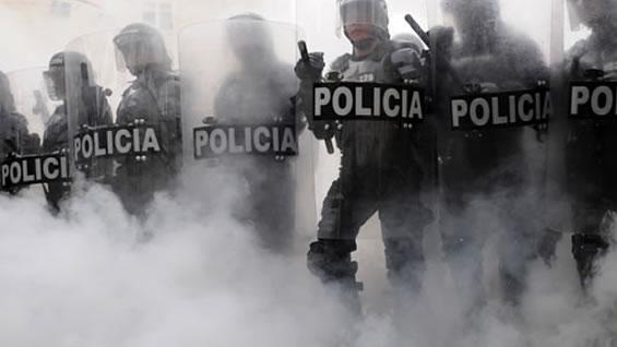 Posible agresión policial - ESMAD a protesta social - esmad