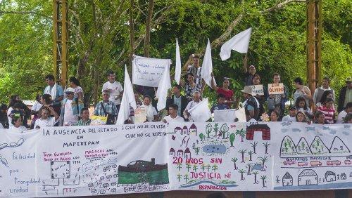 Mapiripán a 20 años de la masacre, las víctimas siguen tercas en la esperanza - mapiripan_2-ca7b1