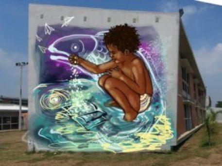 EXPOSICIÓN: RETROSPECTIVA VISUAL ATTACK - Celebrando seis años de intervención artística mural en la ciudad - Diana-Arias-300x225