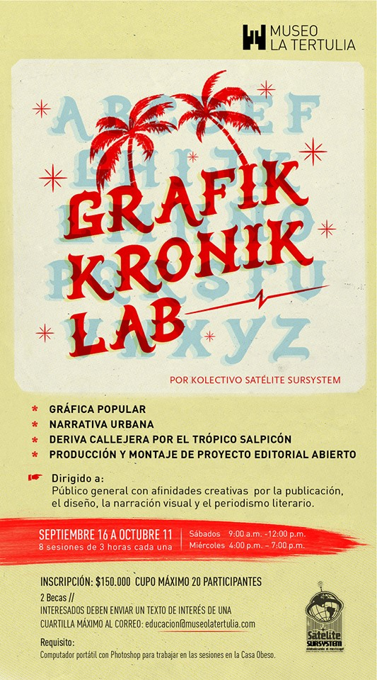 GRAFIKRONIKLAB FLYER