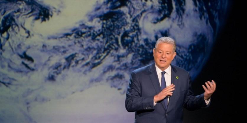"""Al Gore: EE.UU. tiene un partido afiliado a las """"idioteces"""" sobre clima. EFE/J.W./Paramount Pictures"""