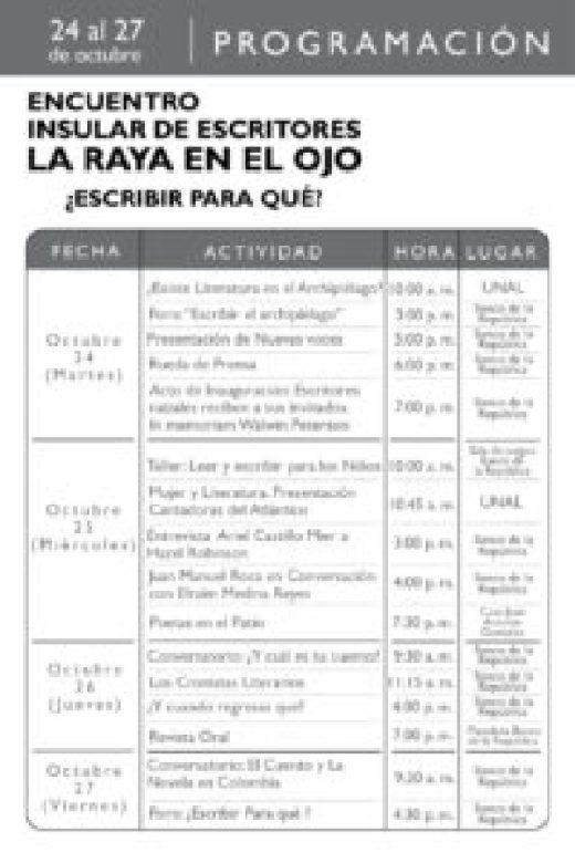 Encuentro de Escritores Insulares 'La Raya en el Ojo' - PROGRAMACIÓN-DIGITAL-ENCUENTRO-INSULAR-DE-ESCRITORES-1-1-200x300
