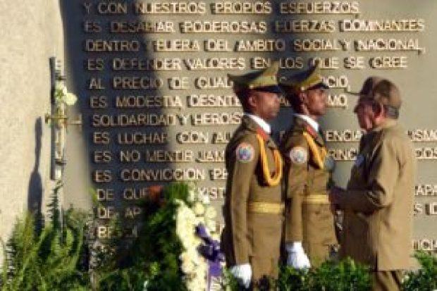 Masiva marcha cierra aniversario de muerte de Fidel Castro en Cuba - 808f7130912107358f115f31d0402ac2237d00c8-300x200