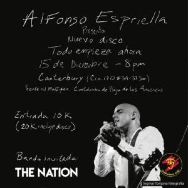 """ALFONSO ESPRIELLA LANZA """"TODO EMPIEZA AHORA"""" EN EL SUR DE BOGOTÁ - flyer-canterbury-300x300"""