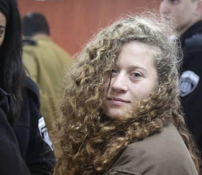 Palestina Una heroína de nuestro tiempo: Ahed Tamimi y la humillante bofetada - pales