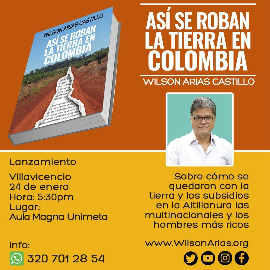 """""""ASÍ SE ROBAN LA TIERRA EN COLOMBIA"""" POR WILSON ARIAS - willson-3"""