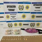 Una adolescente fue detenida por comercializar droga en Libertad