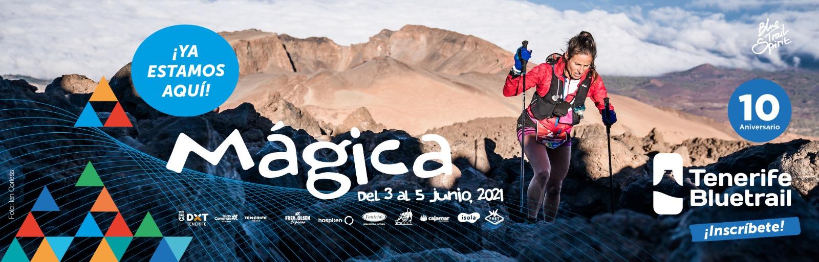 El Cabildo de Tenerife presenta la Bluetrail 2021, que se celebrará entre  los días 3 y 5 de junio | Radio Marca Tenerife