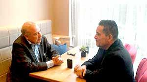 La entrevista con Arturo Arias